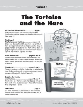 Pocket 01: The Tortoise and the Hare (Aesop's Fables)