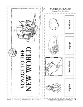 Pocket 01: Voyage to the New World (Plymouth Colony)