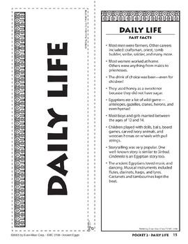 Pocket 02: Daily Life (Ancient Egypt)