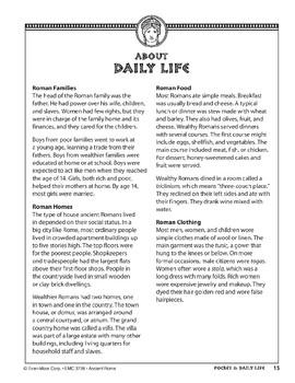 Pocket 02: Daily Life (Ancient Rome)