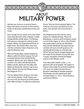 Pocket 02: Military Power  (Ancient Greece)