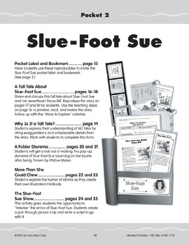 Pocket 02: Slue-Foot Sue (How She Meets Pecos Bill) (Tall Tales)