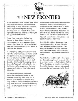 Pocket 02: The New Frontier (Moving West)