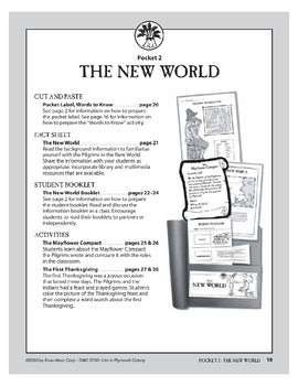 Pocket 02: The New World (Plymouth Colony)