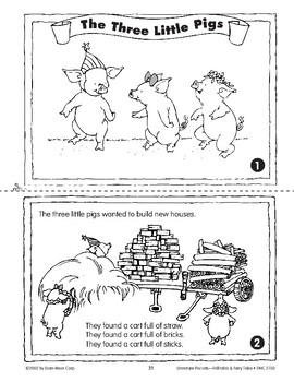 Pocket 02: Three Little Pigs (Folktales and Fairy Tales, K-1)