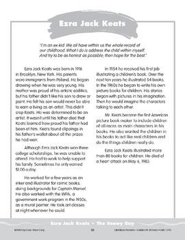 """Pocket 03: Ezra Jack Keats: """"The Snowy Day"""" (Caldecott Winners 1-3)"""