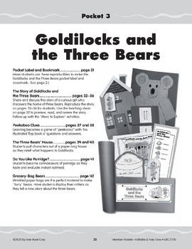 Pocket 03: Goldilocks and the Three Bears (Folktales and Fairy Tales, K-1)