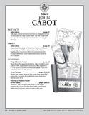 Pocket 03: John Cabot (Explorers of North America)