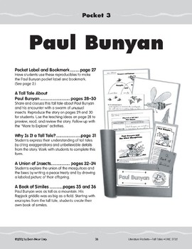 Pocket 03: Paul Bunyan and the Giant Mosquitoes (Tall Tales)