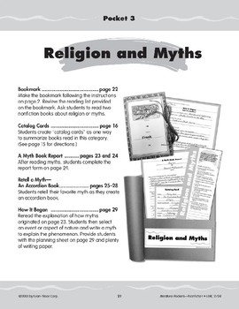 Pocket 03: Religion and Myths (Nonfiction)