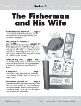 Pocket 03: The Fisherman and His Wife (Folktales and Fairy Tales, 2-3)