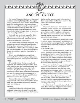 Pocket 04: Ancient Greece (Ancient Civilizations)
