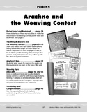Pocket 04: Arachne and the Weaving Contest (Greek and Roman Myths)