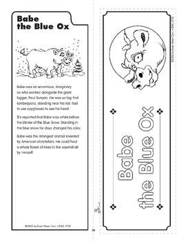 Pocket 04: Babe the Blue Ox (Tall Tales)