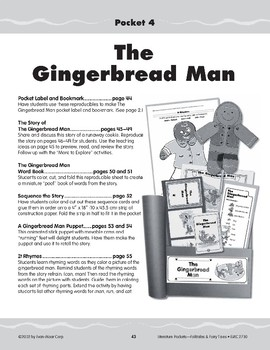Pocket 04: Gingerbread Man (Folktales and Fairy Tales, K-1)