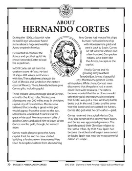 Pocket 04: Hernando Cortes (Explorers of North America)