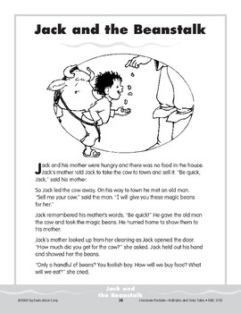 Pocket 04: Jack and the Beanstalk (Folktales and Fairy Tales, 2-3)