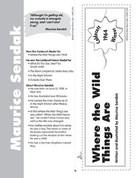 "Pocket 04: Maurice Sendak: ""Where the Wild Things Are"" (Caldecott Winners 1-3)"