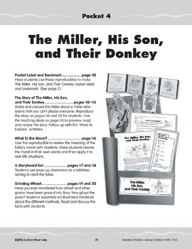 Pocket 04: The Miller, the Son, and Their Donkey (Aesop's Fables)