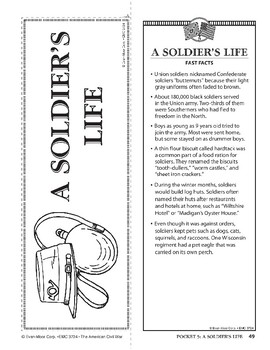 Pocket 05: A Soldier's Life (The American Civil War)