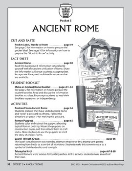 Pocket 05: Ancient Rome (Ancient Civilizations)
