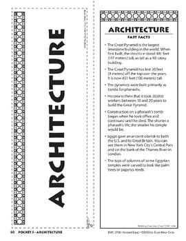 Pocket 05: Architecture (Ancient Egypt)
