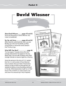 "Pocket 05: David Wiesner: ""Tuesday"" (Caldecott Winners 1-3)"