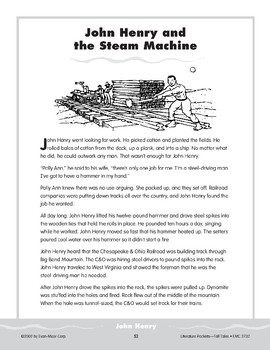 Pocket 05: John Henry and the Steam Machine (Tall Tales)