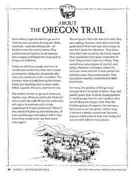 Pocket 05: On the Oregon Trail (Moving West)