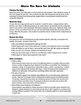Pocket 05: The Race for Atalanta (Greek and Roman Myths)
