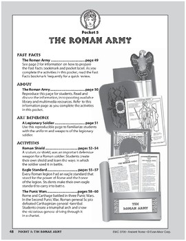 Pocket 05: The Roman Army (Ancient Rome)