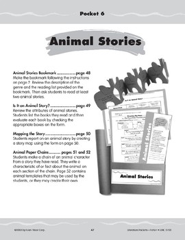 Pocket 06: Animal Stories (Fiction)