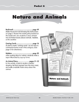 Pocket 06: Nature and Animals (Nonfiction)