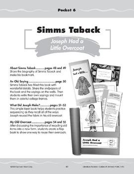"Pocket 06: Simms Taback: ""Joseph Had a Little Overcoat"" (Caldecott Winners 1-3)"