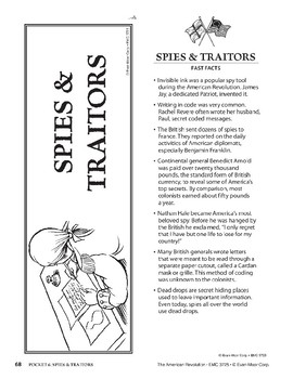 Pocket 06: Spies & Traitors (The American Revolution)