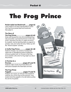 Pocket 06: The Frog Prince (Folktales and Fairy Tales, 2-3)