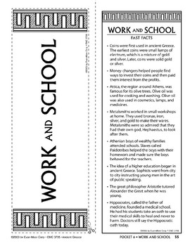 Pocket 06: Work and School  (Ancient Greece)