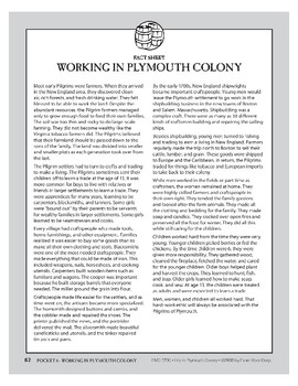 Pocket 06: Working in Plymouth Colony (Plymouth Colony)