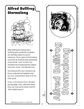 """Pocket 07: Alfred Bullfrog Stormalong Sails the """"Colossus"""" (Tall Tales)"""