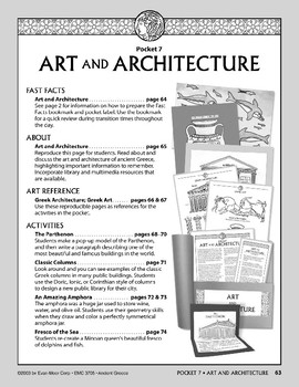 Pocket 07: Art and Architecture  (Ancient Greece)