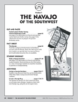 Pocket 07: The Navajo of the Southwest (Native Americans)