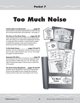 Pocket 07: Too Much Noise (Folktales and Fairy Tales, K-1)