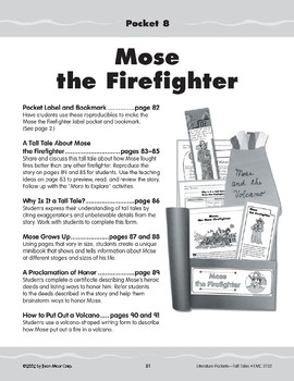 Pocket 08: Mose the Hero Firefighter (Tall Tales)