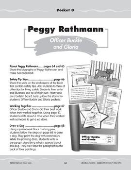 "Pocket 08: Peggy Rathmann: ""Officer Buckle and Gloria"" (Caldecott Winners 1-3)"