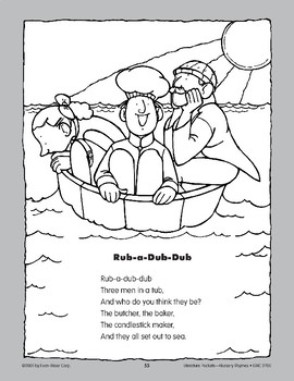 Pocket 08: Rub-a-Dub-Dub (Nursery Rhymes)