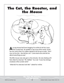 Pocket 08: The Cat, the Rooster, and the Mouse (Aesop's Fables)