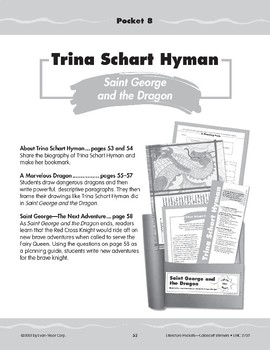 "Pocket 08: Trina Schart Hyman: ""Saint George and the Dragon"""