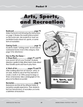 Pocket 09: Arts, Sports, and Recreation (Nonfiction)
