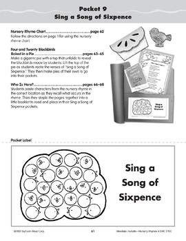 Pocket 09: Sing a Song of Sixpence (Nursery Rhymes)