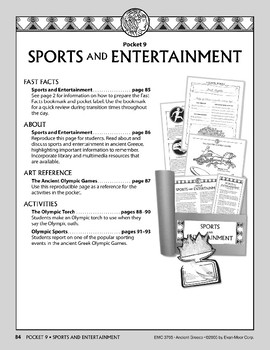 Pocket 09: Sports and Entertainment  (Ancient Greece)